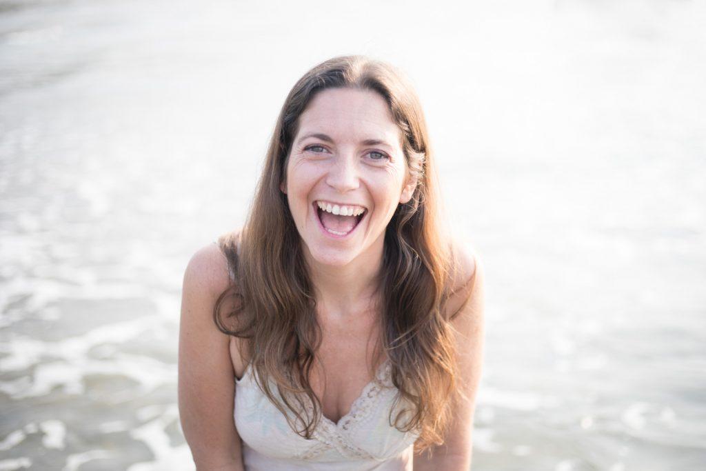 Juliet laughing