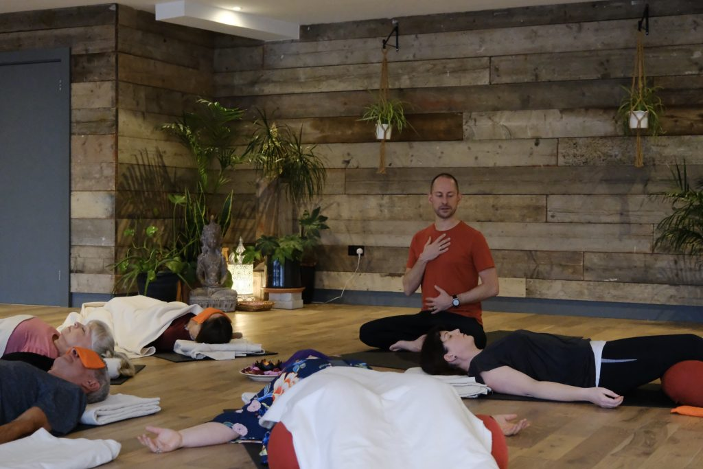 Daniel Groom Yoga Nidra class, Anahata, Southend